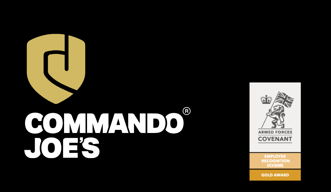 Commando Joe's honoured for outstanding support towards the Armed Forces